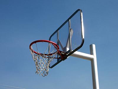 cesta de basquete, basquete, aro, esportes, jogo, equipamentos, gol