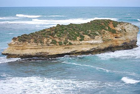 île, océan, vagues, mer, paysage marin, Tourisme, route du grand océan