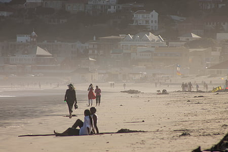 platja, Mar, sorra blanca, persones, vacances, viatges, l'estiu