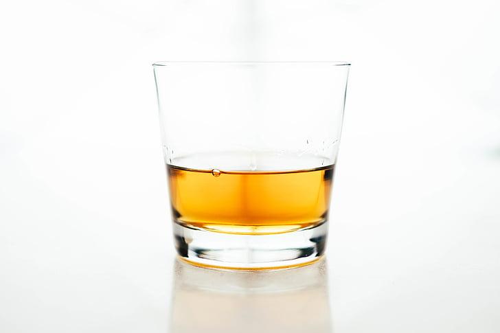 очистити, пити, Скло, Питне скло, чарку, алкоголь, напій