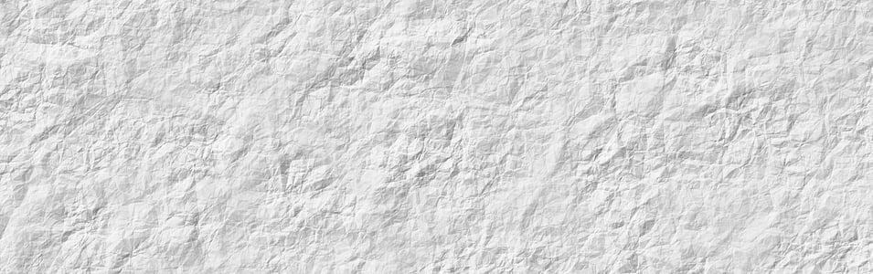 Banner, capçalera, document, arrugat, textura, fons, patró