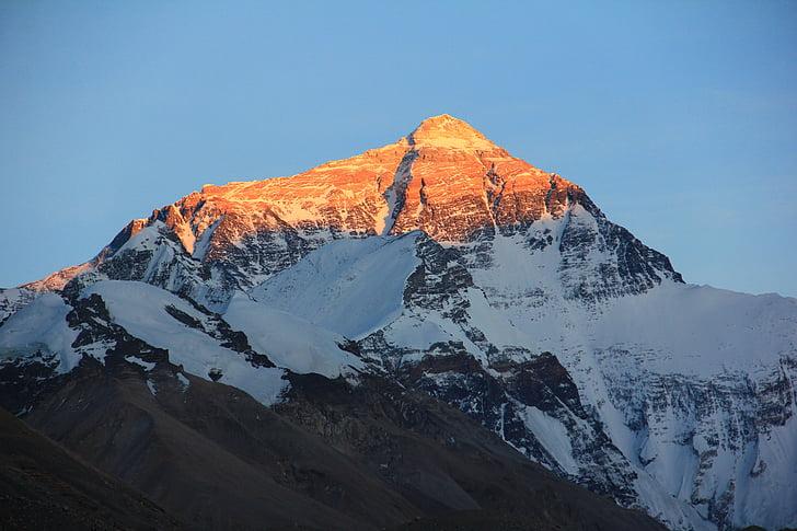 Foto Gratis Longsor Gunung Everest Salju Pemandangan Es