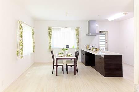 l'habitatge, casa, finalització, sala, l'interior, moderna, Habitació interior