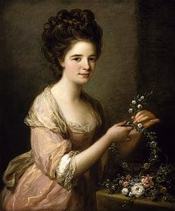 Angelica kauffmann, Art, pintura, oli sobre tela, artística, l'art, Retrat