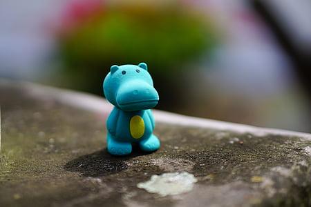 hippo, toys, figure, children toys, child, children, decoration