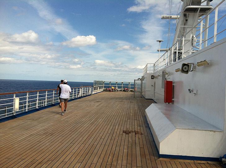 Carnival cruise, däck, semester, semester kryssning, fartyg, kryssning