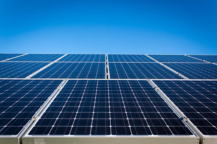 deelvenster, zonne-energie, macht, energie, milieu, elektrische, technologie