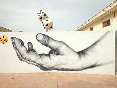seni jalanan, grafiti, perkotaan, cat, semprot, Desain, perusak