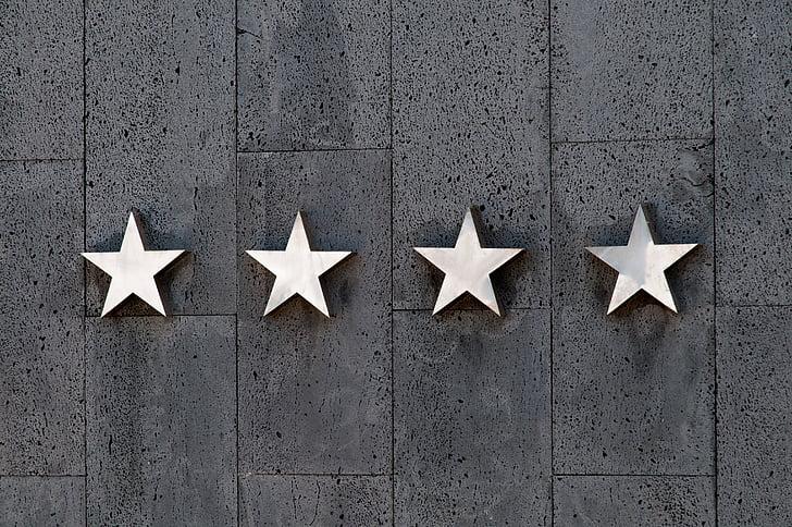 estrelles, l'índex, viatges, quatre, Hotel, qualitat, experiència del client