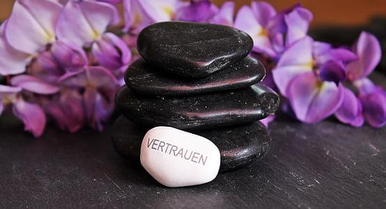 平衡, 冥想, 石头, 鹅卵石, 禅宗, 弛豫, 分层