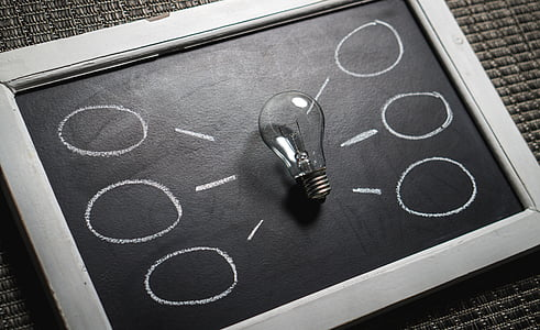 idea, Innovació, imaginació, MindMap, pluja d'idees, inspiració, bombeta