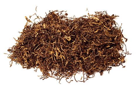 tubaka, lehed, aroom