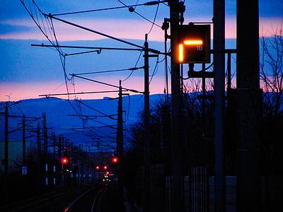 train, railway line, travel, gleise, seemed, transport, rail traffic