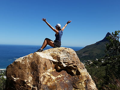 girl, dom, climbing, hiking, happiness, summer, lifestyle
