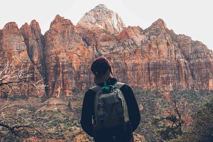dobrodružstvo, Tramp, Pešia turistika, Mountain, vonku, osoba
