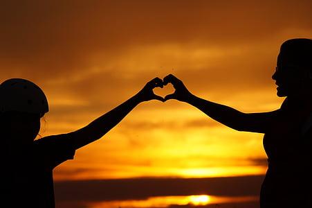 love, family, heart, parent, eternal love, mother, feeling