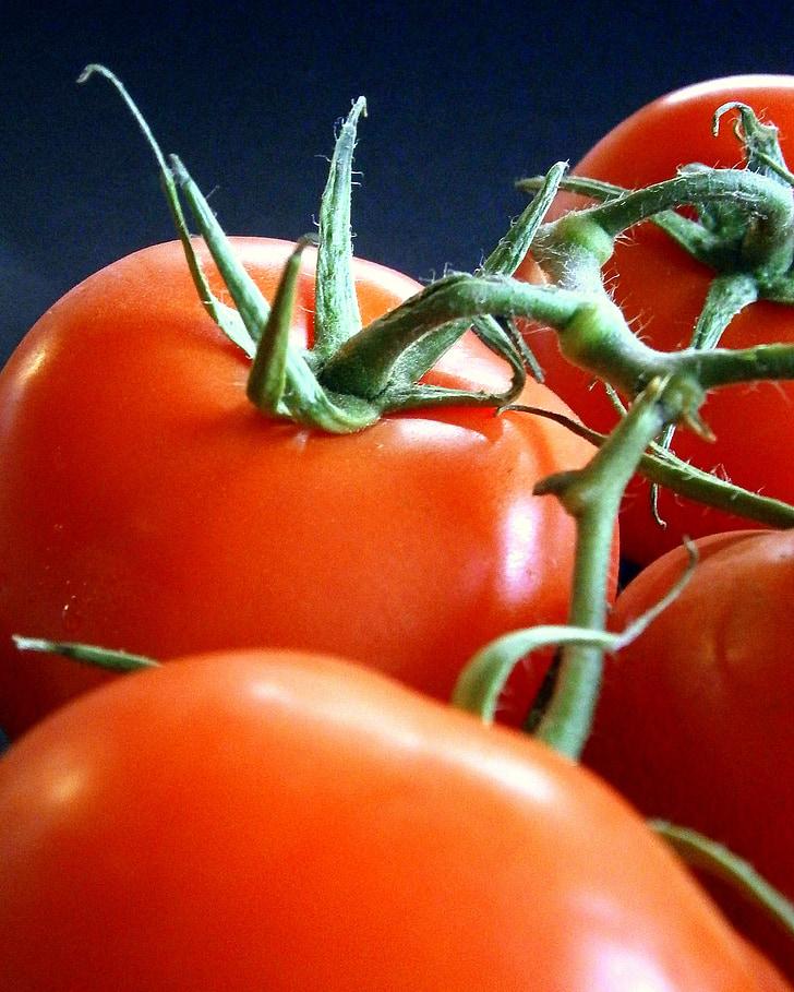 tomāti, dārzeņi, veselīgi, sarkana, pārtika, garšīgi, Frisch