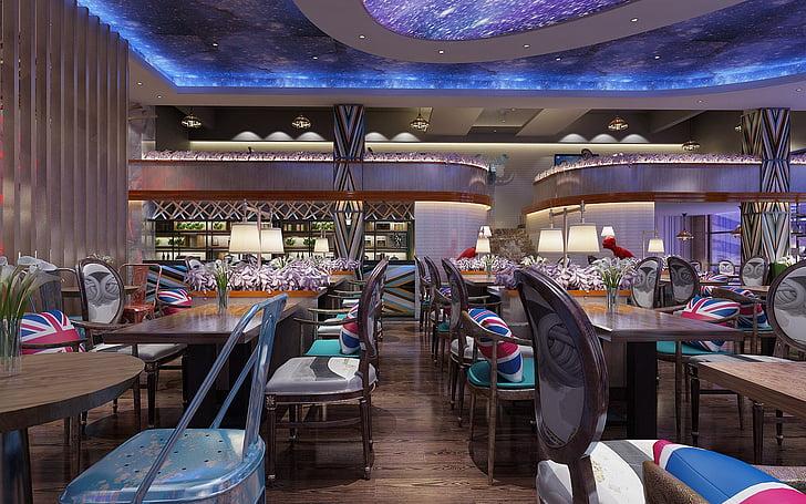 Anhui, bengbu, el tresor pot ser los, disseny, disseny d'interiors, Restaurant, disseny del restaurant
