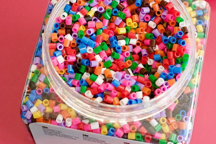 fuse kralen, kralen, Perler kralen, pyssla, IKEA, kleurrijke, fuse