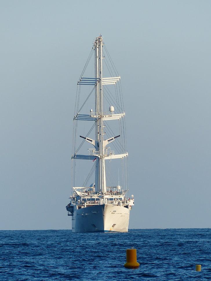 segelfartyg, ozeanriese, megayacht, lämplig för offshore, Yacht, lyxiga, imperiet