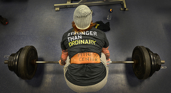 greutăţi, ridicare, putere, de sex feminin, sala de sport, fitness, tineri