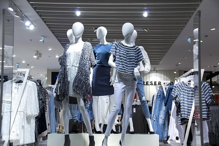 aparadors, roba de moda, debilitat femení, la temptació, dones primes, Maniquí, estil de vida