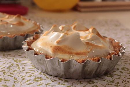 Tartaleta, pastís, Pastís de llimona merengada, merengue, Pastís de llimona, aliments, aliments i begudes
