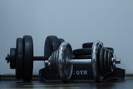 sport, exercise, gym, dumbbell, health, slimming, the muscles