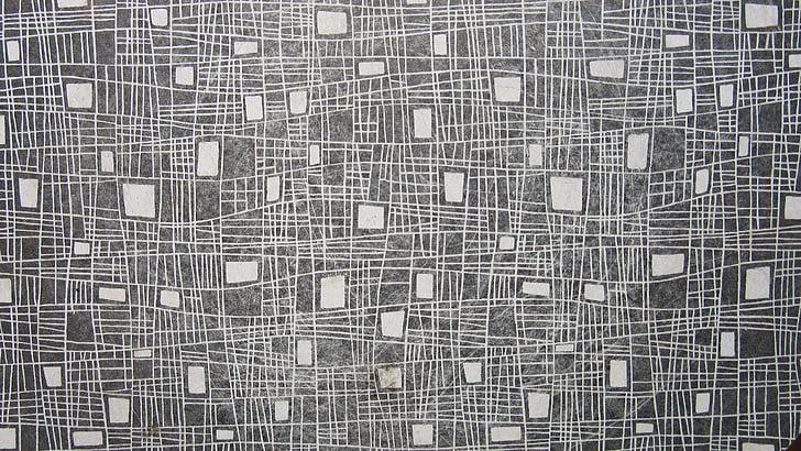 línies, quatre cantonada, blanc, gris, patró, anyada, fons