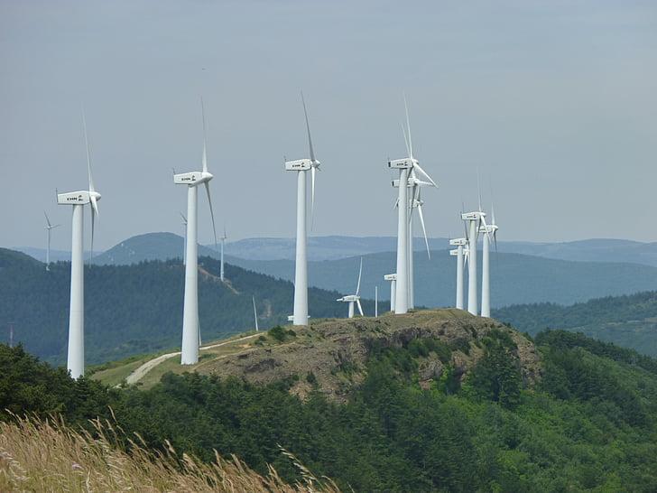 Энергия ветра, вертушка, Энергия, экологические технологии, Альтернативная энергетика, Ветротурбины, производство электроэнергии