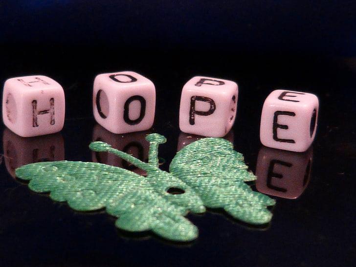 hoop, kralen, macro, decoratie, Deco, vlinder, groen