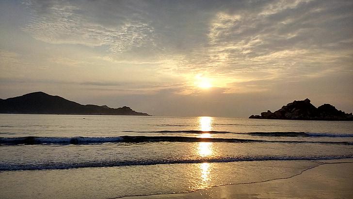 Alba, el mar, illa