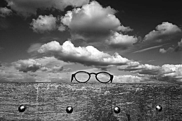 kacamata, kacamata, mata memakai, Visi, optik, membaca bantuan, optik