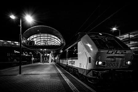 ferrocarril de, locomotora, loco, tren, tráfico de carril, carril de, vehículos