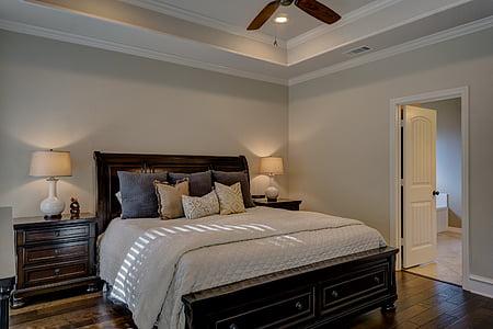 bedroom, real estate, interior design, architecture, real, estate, house
