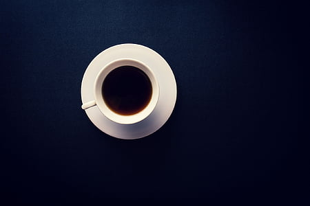beverage, caffeine, coffee, cup, drink, mug, table