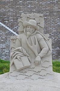 sand sculpture, structures of sand, tales from sand, fairytales sand sculpture, architecture, statue, sculpture