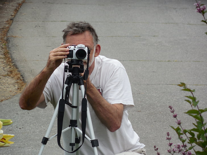 photographer, camera, adjusting, photo, photography, lens, digital