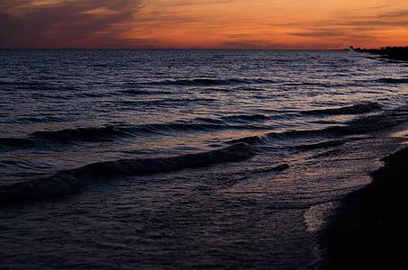 ทะเล, สาว, ชายหาด, ท่องเที่ยว, คน, ดวงอาทิตย์, ไลฟ์สไตล์