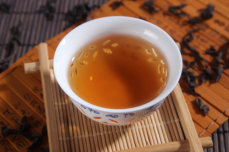 tea, da hong pao, tea cup, tea - Hot Drink, cup