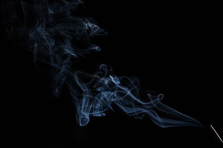 no, encens, olor, fosc, resta