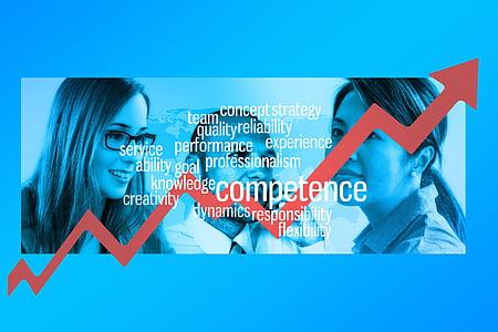 empresaris, empresari, empresària, esperit d'equip, èxit, fletxa, Borsa de