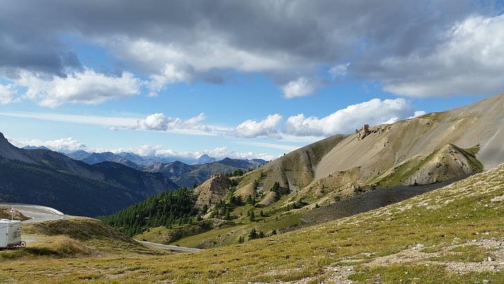 Queyras, Hautes alpes, Prado, montanha, natureza, paisagem, scenics