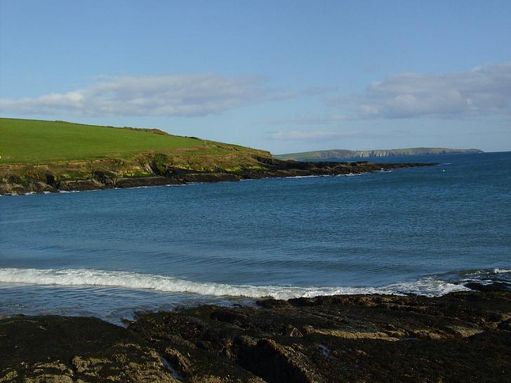 Howe strand, Ocean wave, Atlanten, havet, kusten, naturen, stranden
