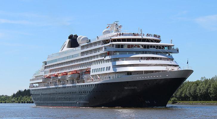 kryssning, fartyg, fartyg, Frakt, Crusaders, semester kryssning, Prinsendam