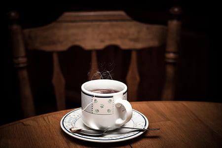 čaj, vruće, kup, piće, čaj, šalica, jutro