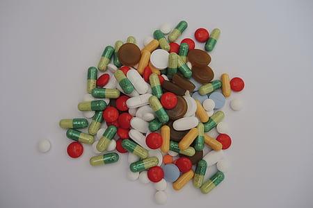mèdica, medicaments, comprimits, drogues, metge, tractament, Farmàcia