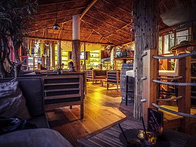 酒吧, 加勒比海, 海事, 饮料, 餐厅, 海滩酒吧, 鸡尾酒