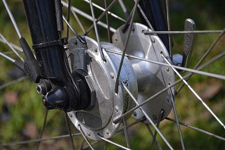 bicikl, žbice, kotači, bicikli