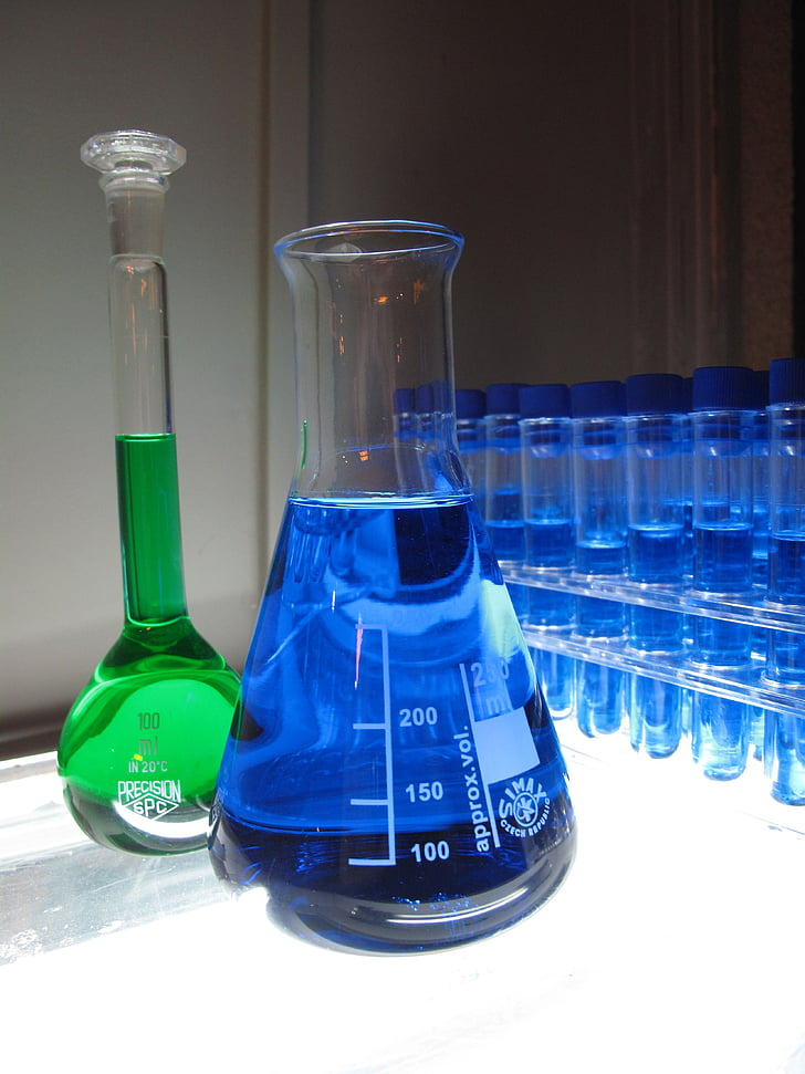 laboratoře, chemii, výzkum, chemik, kapalina, Věda, laboratoř